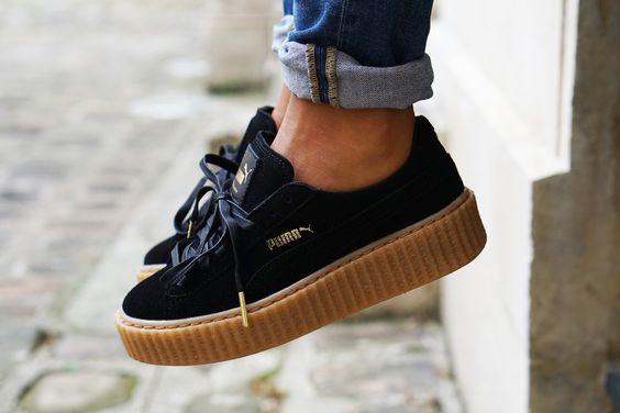 scarpe puma creeper nere